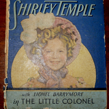 Shirley Temple &quot;The Little Colonel&quot;  by  Annie Fellows Johnston. - Books