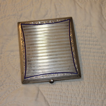 Sterling Sliver Cigarette Holder - Tobacciana