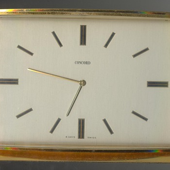 Concord 8 day Swiss movement Clock