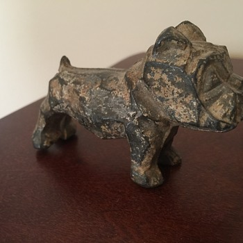 Cast iron bulldog - Animals