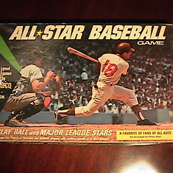 Calico All Star Baseball Goodwill Find! - Games
