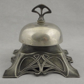 Antique German WMF Art Nouveau Mechanical Bell