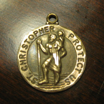 St. Christopher Pendant - Fine Jewelry