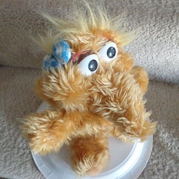 Vintage Baby Alice Snuffleupagus Sesame Street Muppet Plush Snuffy's Sister Toy