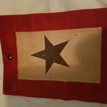 War Mother's Flag - Military and Wartime