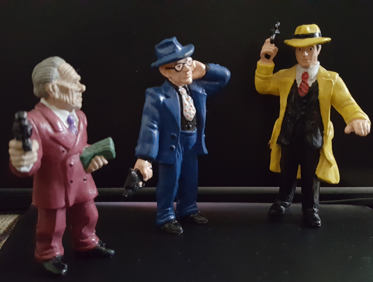 dick tracy itchy