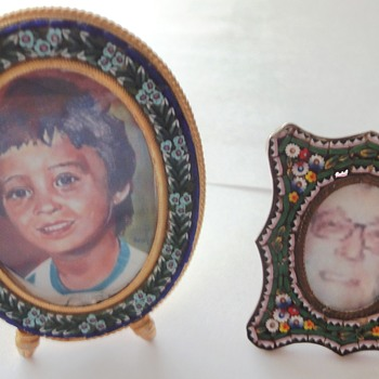 Micro Mosaic Photo Frames