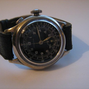 Mondia Watch ca. 1940  Chronograph  - Wristwatches