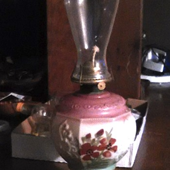 help with info on this oil lamp please