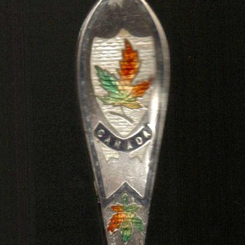 Souvenir Fork - Banff Canada (Sterling) - Sterling Silver