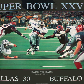 1993 Peter Nickelback Super Bowl Poster