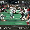 1993 Peter Nickelback Super Bowl Poster