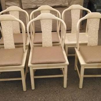 Henredon Ming Cane Seat Chairs