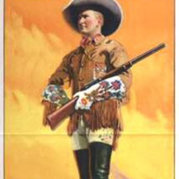 Tim McCoy Lithographs for Ringling Bros and Barnum & Bailey - Posters and Prints
