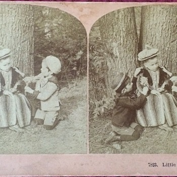 Antique Stereoscopic Photo Cards