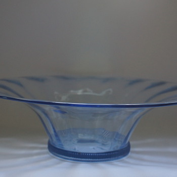 Whitefriars Sapphire Bowl - Art Glass