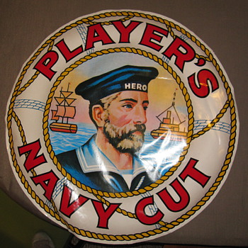 Players Navy Cut - Advertising
