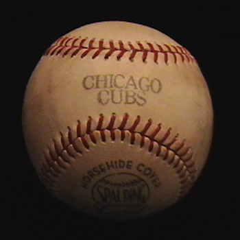1967 Team Autographed Chicago Cubs Baseball