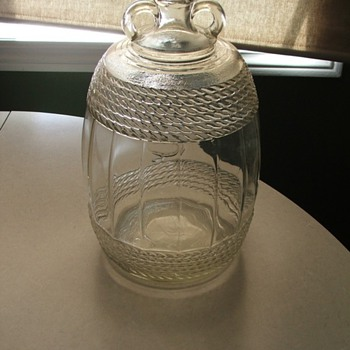 One gallon Demijohn double handle