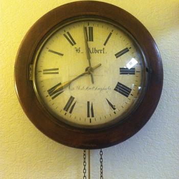 B.. Albert clock?