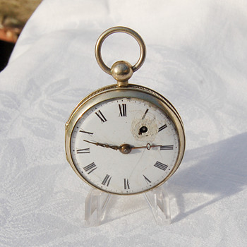 POCKET WATCH -From what year. 1880s possibly ? Maker ?