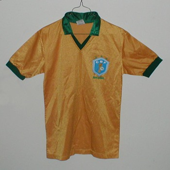 1982 Brasil Futbol (Soccer) Jersey