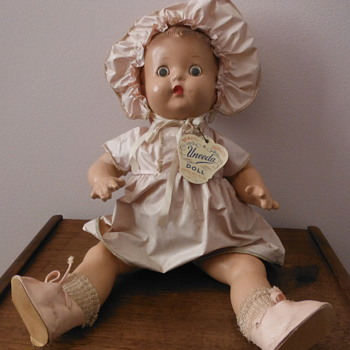 Uneeda Composition Baby Doll  - Dolls