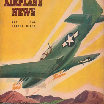 1944 - Model Airplane News magazine - May