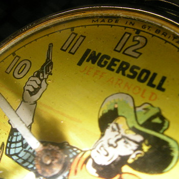 Red Label Jeff Arnold Pocket Watch