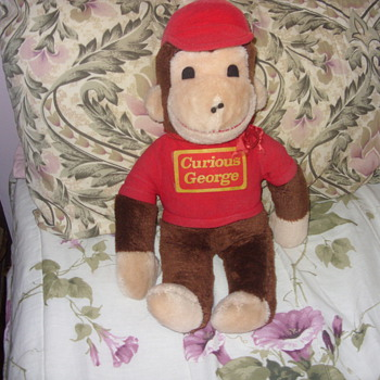 vintage curious george - Dolls