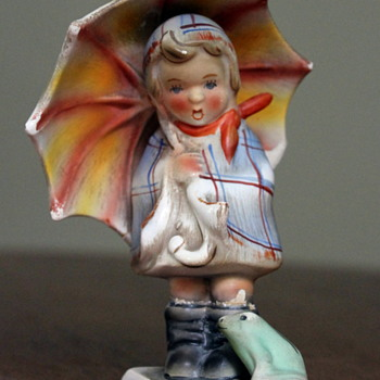 Sweet but sad - Jema girl  - Figurines