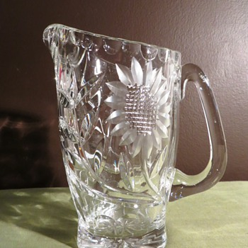 Perfect Condition American Brilliant Cut Crystal Pitcher
