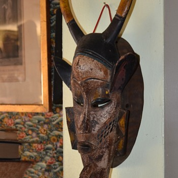 African Mask - Senufo from Ivory Coast - Visual Art