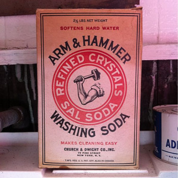 Arm & Hammer Washing Soda box - Kitchen