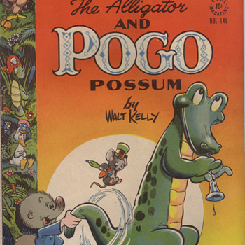 Pogo and Albert in Glorious Dell Four Color - Comic Books