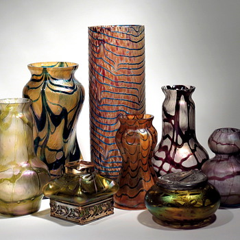....more group shots - Art Glass