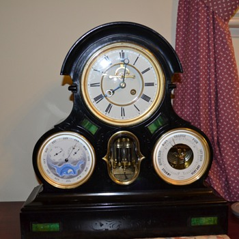 Perpetual Calendar French Clock