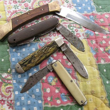 Pocket Knifes.... - Tools and Hardware