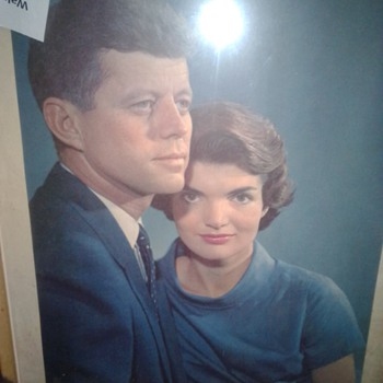 President and Mrs. J. F. Kennedy