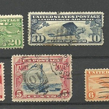 US Stamps I Collect - Stamps
