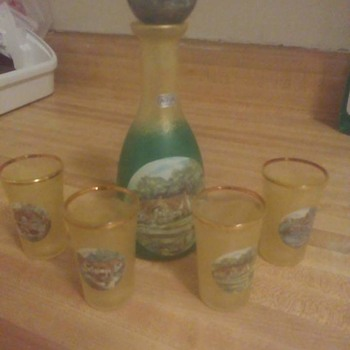 5 piece shot glass set
