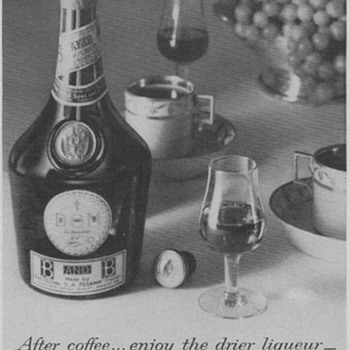 1953 Benedictine & Brandy Advertisement - Advertising