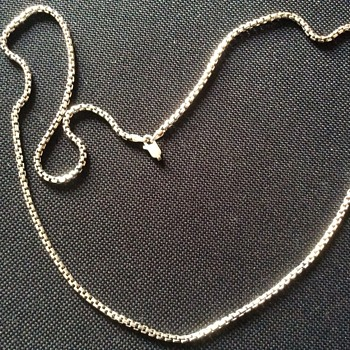 Old silver necklace  - Silver