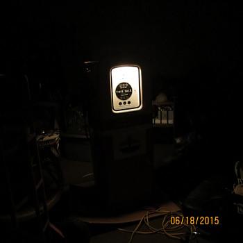 """1950's all original Martin & Schwartz """"Standard Oil"""" gas pump - Petroliana"""