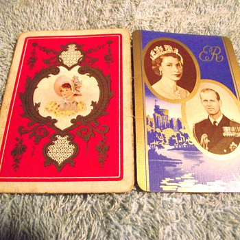 1910/1936-playing cards-single swipe. - Games