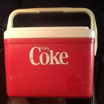 Plastic Coca Cola Cooler