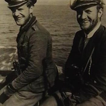 Original WW II Kriegsmarine Press Photo