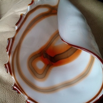 Murano Glass shell dish ????