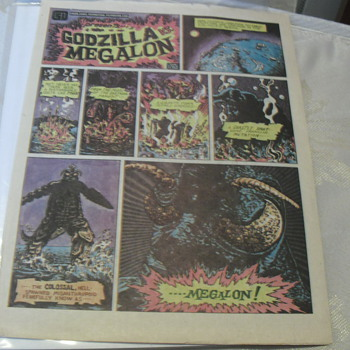 Godzilla vs. Megalon comic - Comic Books