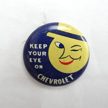 Chevrolet promo pinbacks - Medals Pins and Badges